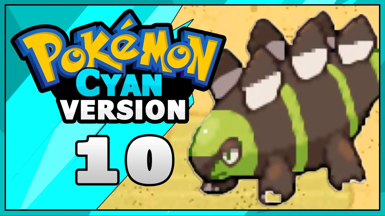 Pokemon Cyan Rom Hack Dinosaur Part 10 Walkthrough