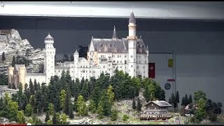 Neuschwanstein at Minature Wunderland 2015  featuring Knuffingen Airport, Italy, Switzerland & More(REYNAULDS.COM presents a nice video on Miniatur Wunderland. Miniatur Wunderland (German for miniature wonderland) is a model railway attraction in ..., 2015-03-23T20:37:34.000Z)