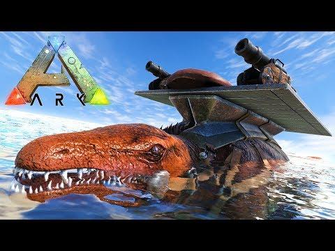 ARK: SURVIVAL EVOLVED - UNDERWATER TAMING!!
