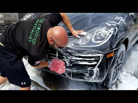 Porsche Macan S Paint correction, ceramic coating, and more!