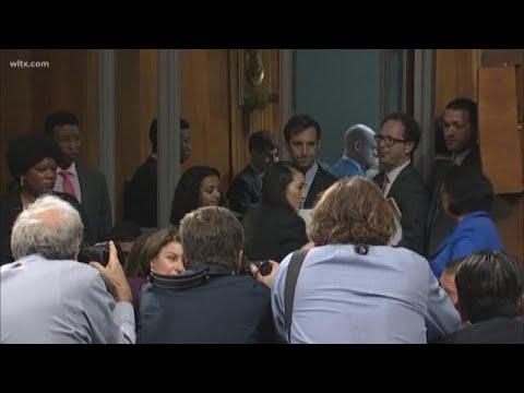 Democrats Walk Out of Brett Kavanaugh Hearing in the U.S. Senate