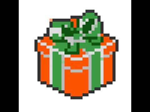 Comment Faire Un Cadeaux De Noël En Pixel Art Youtube