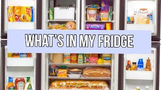 WHATS IN MY FRIDGE / ORGANIZING THE PANTRY (GABRIELLA GLAMOUR)