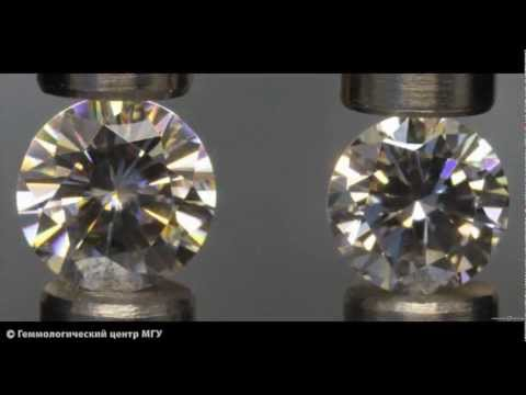 Moissanite And Diamond Youtube