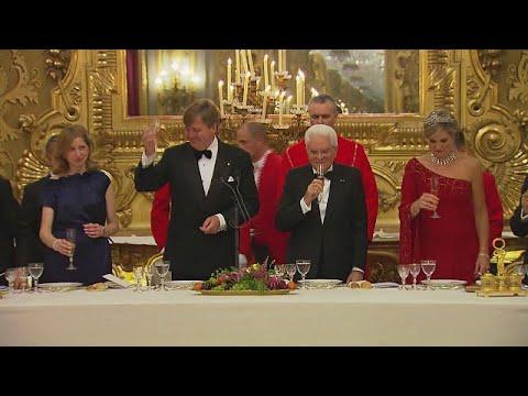 Zo kritisch is koning in Italië