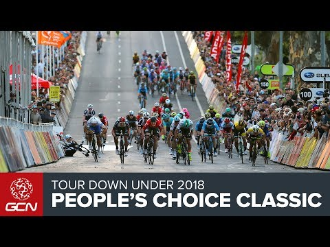 Tour Down Under 2018 | People's Choice Classic Race Report
