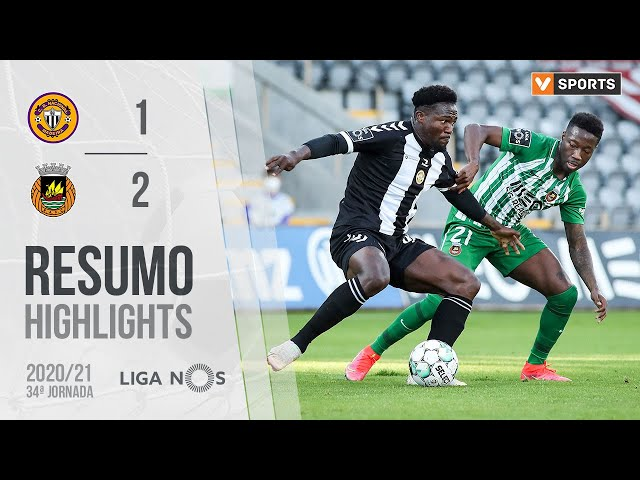 Highlights | Resumo: CD Nacional 1-2 Rio Ave (Liga 20/21 #34)