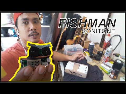 Preamp Fishman Sonitone (unboxing + Tes Fungsi/tidak) - Filosofi Gitar