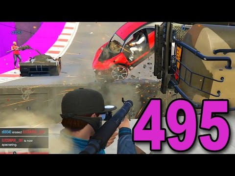 Grand Theft Auto 5 Multiplayer - Part 495 - INSANITY