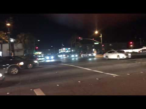 Millbrae ave cars getting busted for running red light - FLASH