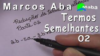 REDUÇÃO DE TERMOS SEMELHANTES  -  COM FRAÇÃO  -  PARTE 02