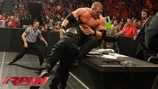 Roman Reigns vs. Kane: Raw, May 11, 2015