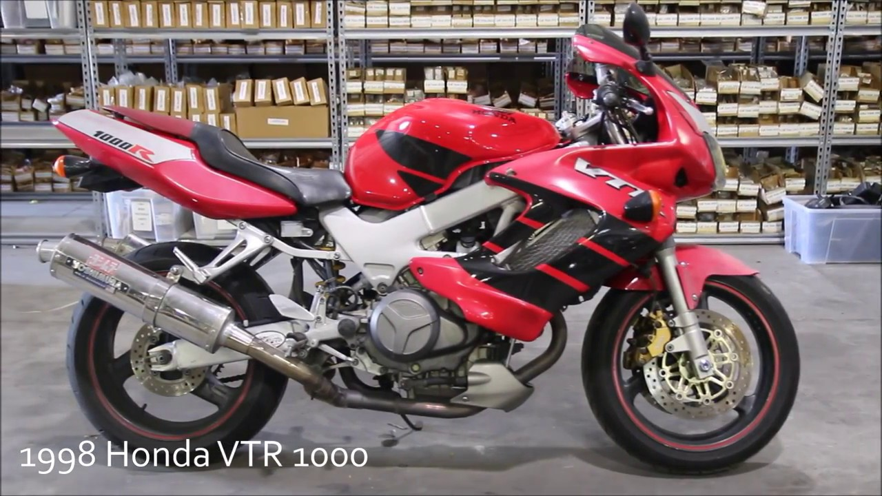 1998 Honda Superhawk VTR 1000 Used Parts - YouTube