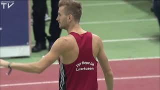 Mateusz Przybylko jubelt über Gold und 2,30 Meter | Hallen-DM 2018 Dortmund