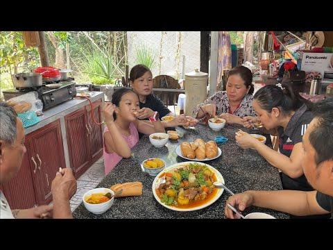 Bao Tử Nấu Tiêu Pate Ăn Với Bánh Mì   MienTayTV