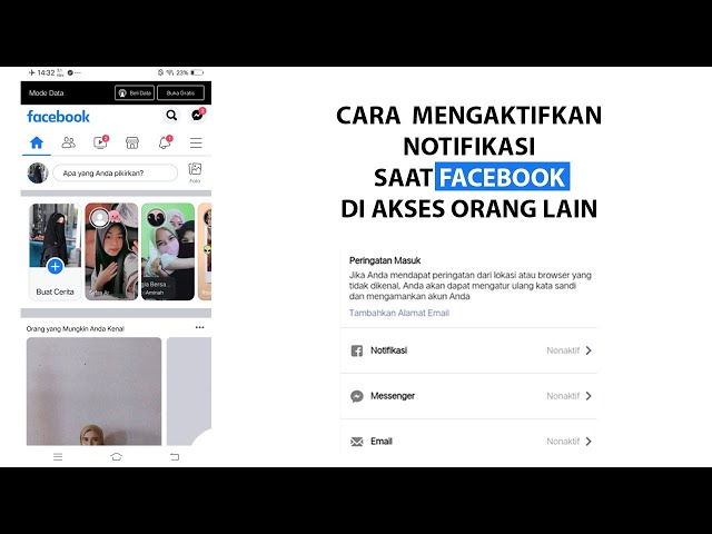 Cara Mengaktifkan Notifikasi Saat Facebook Diakses Orang Lain