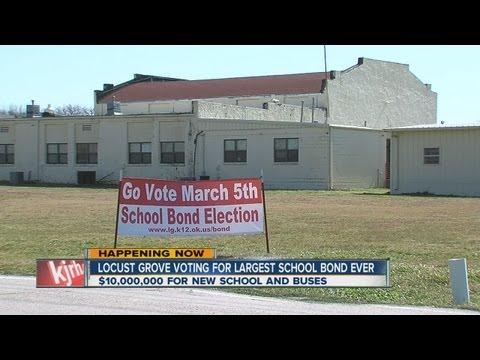 Locust Grove school bond vote