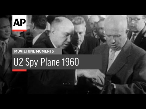 U2 Spy Plane 1960 | Movietone Moment | 8 July 16