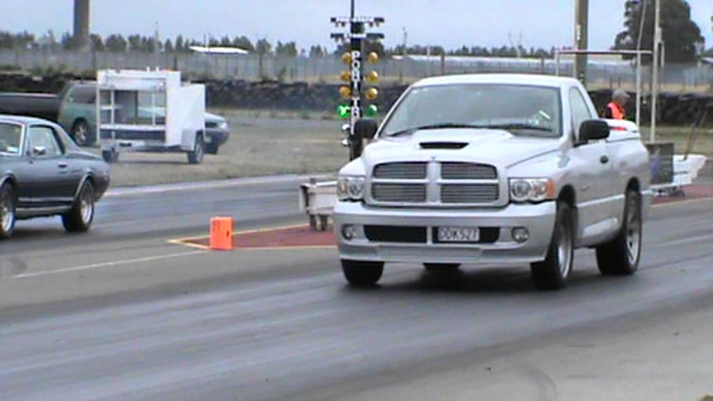 Dodge Ram 1500 Ecodiesel >> Supercharged V10 Dodge Ram Drag race - YouTube