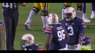 Auburn Defense vs LSU Offense 2016