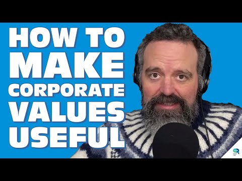 Tanzu Talk: Use corporate values as principals