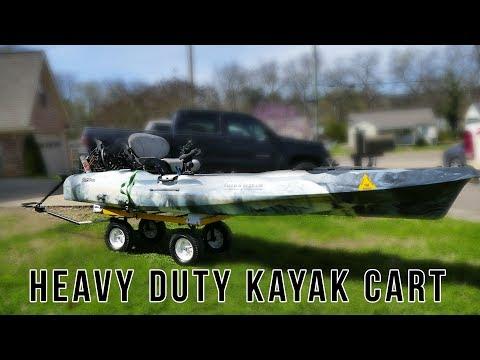 BEST Fishing Kayak Cart & *Fixed My Kayak*
