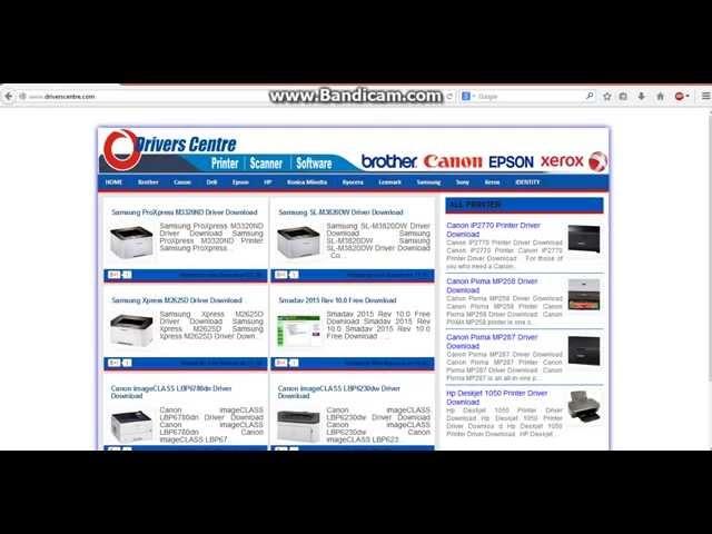 canon pixma mp258 printer software free