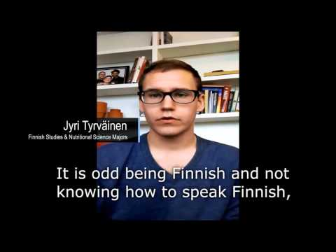 Why do I study Finnish? - Finnish Studies Program at University of Toronto