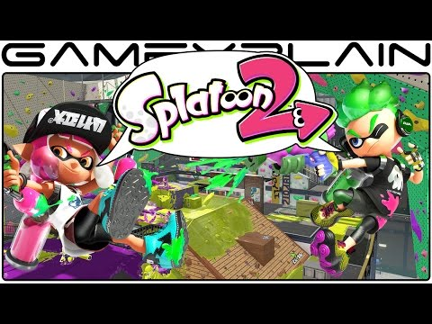 Splatoon 2 - Reveal Trailer Discussion w/ Chuggaaconroy & MasaeAnela