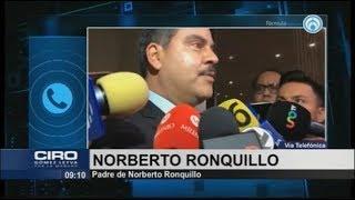 Yuri fue la autora intelectual del secuestro de mi hijo: padre de Norberto Ronquillo