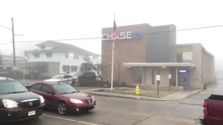 Scene video: Chase bank robbery