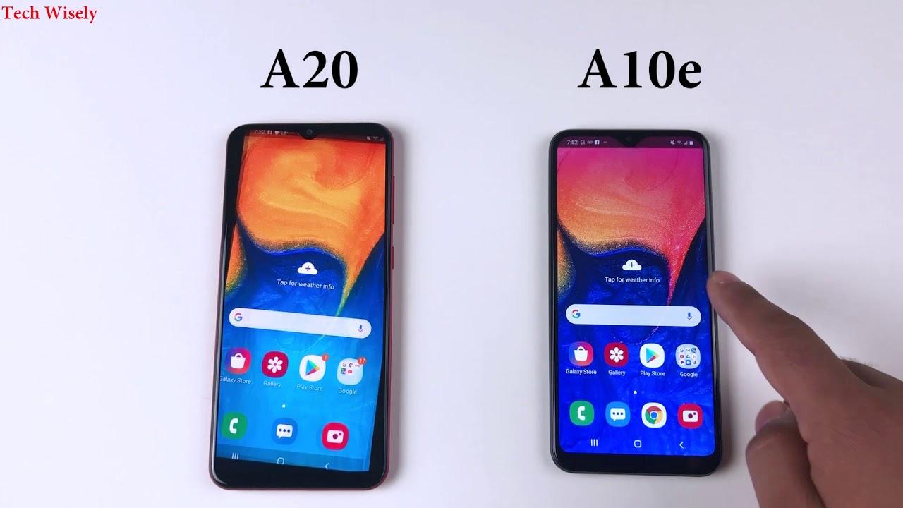 Samsung Galaxy A10e Vs Galaxy A20 Specs Comparison 10