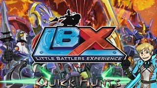 LBX: Little Battlers eXperience (3DS) Review - Quick Hunts!