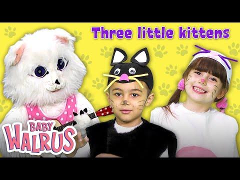 Three Little Kittens   Nursery Rhymes and Kids Songs