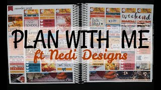 Plan With Me | ft Nedi Designs - Life Starts All Over Again