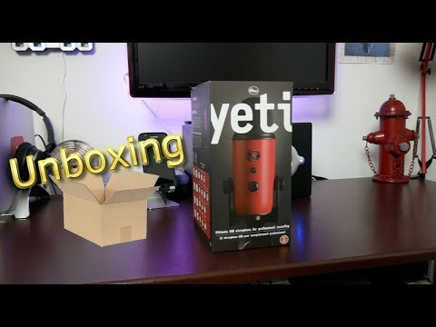UNBOXING THE BLUE YETI IN SATIN RED   VLOG #076