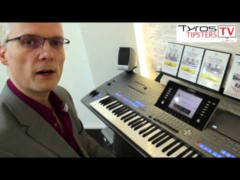 Daniel Watt gives some tips on saving registrations on Yamaha Tyros