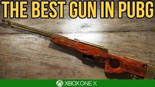 THE BEST GUN IN PUBG / PUBG Xbox One X