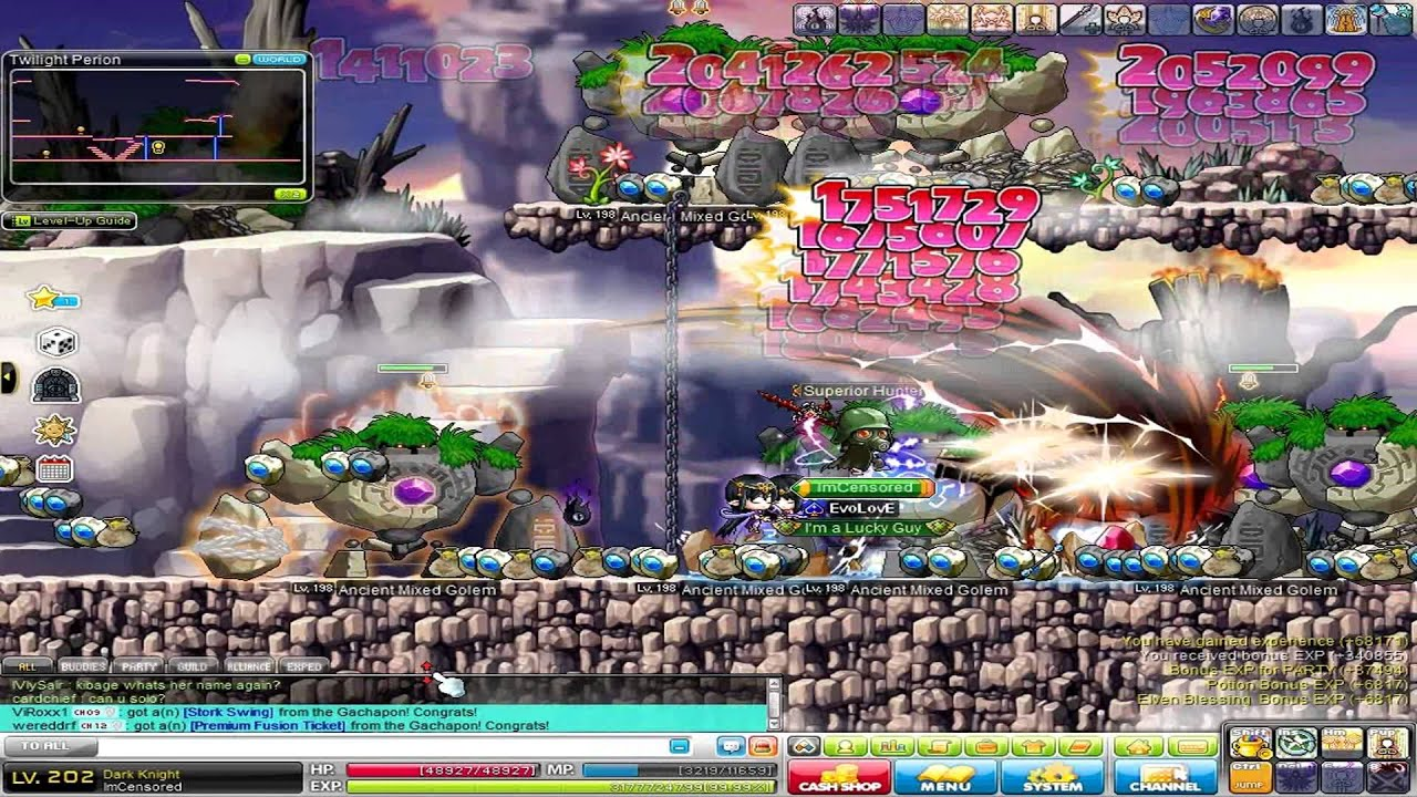 gms unleashed twilight perion training level 200 to 204 youtube rh youtube com MapleStory Characters MapleStory Characters