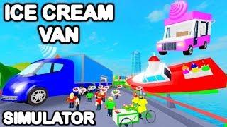Roblox Ice Cream Van Simulator est une beauté.