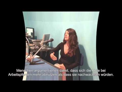 Interview - Maksida Vogt für Radio INAT - deutsche Untertitel