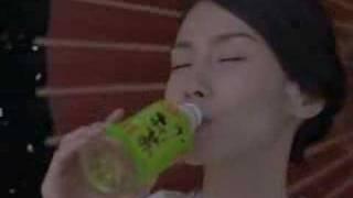中谷美紀:伊藤園お~いお茶(桜、舞う篇) 15秒.