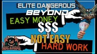 Elite: Dangerous Making Money is not Easy Reboot and Restart