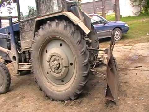 Тест-драйв: Трактор МТЗ 50 - YouTube
