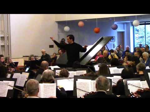 Chopin Piano Concerto no  1 conductor perspective
