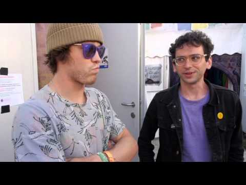 Glastonbury 2014 - MGMT: 'We're Gonna Write New Music On The Road'