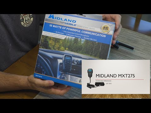 Midland MXT275 GMRS Radio Review