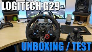 LOGITECH G29 : UN VOLANT POUR PS4 - Unboxing + Test [FR]