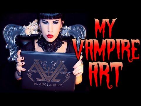 My Vampire Art & Limited Edition Book! | Avelina De Moray