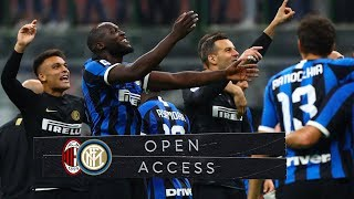 OPEN ACCESS | MILAN 0-2 INTER | BROZOVIC AND LUKAKU TURN MILANO BLACK & BLUE! 📹⚫🔵